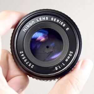 Nikon manual focus 50mm F1.8 pancake lens
