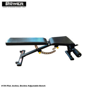 Power Body Fitness Adjustable Bench on Clearance Sale  _ $249.00