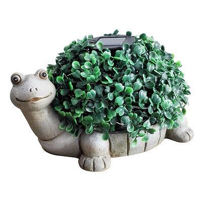 Gardenwize Solar Powered Tortoise Garden Bay Ball Tree Plant Holder Ornament