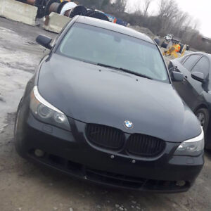 Quick sale-NEW WINTERTIRES 2005 BMW 530i NO ISSUES