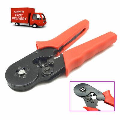 Self Adjusting Ratcheting Ferrule Crimper 0.25-6mm Easy Use Cable End-sleeves