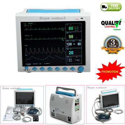 Portable Multi-parameter Vital Signs Patient Monitor Icuccu Machine 2018 Newest