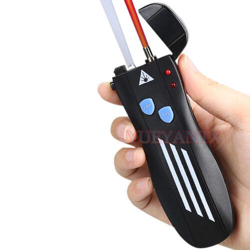 5/10/20/30/50mW Pen Mini Visual Fault Locator Fiber Cable Tester FC-LC Adapter
