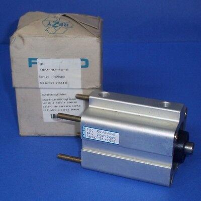 Festo 40mm Piston 40mm Stroke 145 Psi Pneumatic Cylinder Adv-40-40-a Pzf