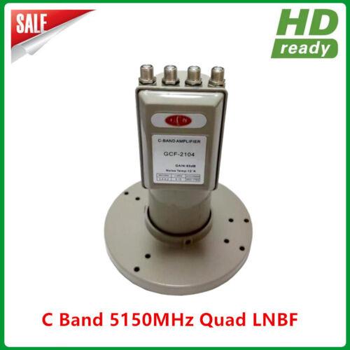 Digital Ready LNB C band 4 output Quad LNBF with L.O Frequency 5150MHZ