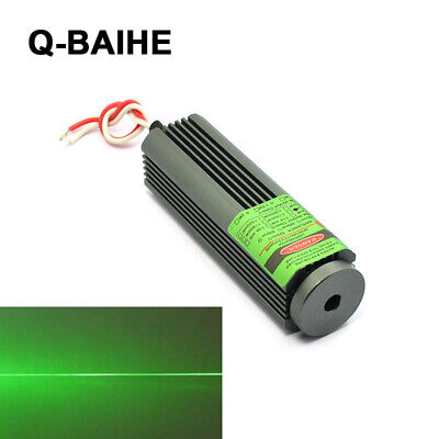 532nm 50mw Green Line Laser Diode Module Locator 25x75mm 5v Glass Collim Lens