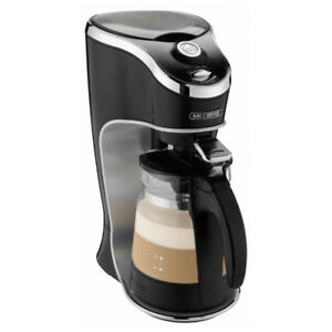Mr. Coffee Cafe Latte Home Brewer, Black /Silver