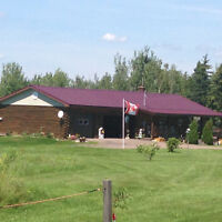 Handcrafted Log Home REDUCED Great for Hobby Farm