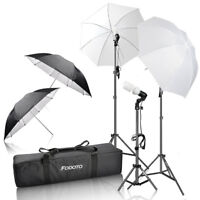 3-Point Photo/Video Starter Lighting + Free Items Incl