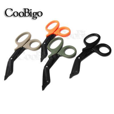 Edc Medical Bandage Scissors Tactical Emergency Survival Canvas Trauma Gauze Kit