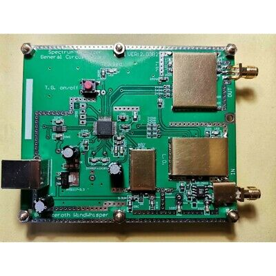 Simple Spectrum Analyzer 35mhz-3500mhz With Tracking T.g. D6 V2.03b2 Usb Cable
