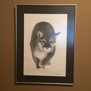 Thomas McNeill signed numbered print