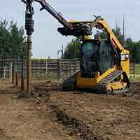 Engineered Helical Screw Pile install