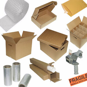 Easy-Fold Mailers, Laptop Shippers, Square Tubes, LP Records