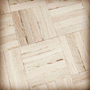 Unfinished 5 Bar Parquet Flooring
