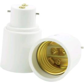 Status B22 > E27 light bulb converter