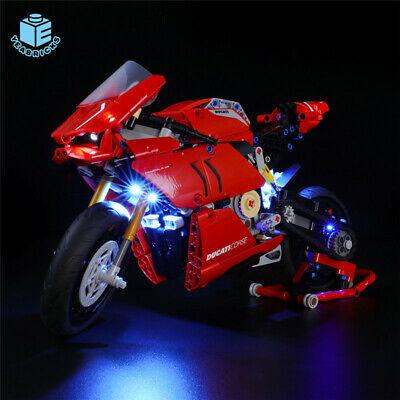 LED Light up Kit For LEGO 42107 For Ducati Panigale V4 R Motorcycle Bricks