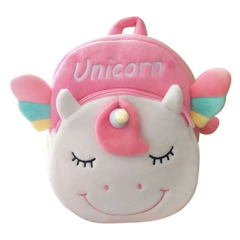 Unicorn Backpack for Preschool & Toddler Girls Cute Animal Cartoon Mini Bag
