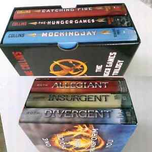 Hunger Games Trilagy and Divergent series  Cambridge Kitchener Area image 1