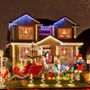 !! Christmas is coming !!  Start the Holiday Season -Indoor Outdoor LED String/Balls Christmas Lights starting $17.99