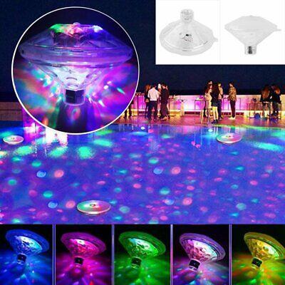 1x Sous-marin flottant Disco lumière show baignoire piscine RGB LED Party Lampe