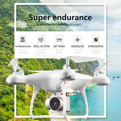 FPV RC Drone w/ 2/5MP Wifi Camera Live Video 1080P HD GPS Return Home Quadcopter