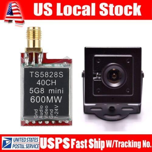TS5828S 48CH 5.8G 600MW RP-SMA FPV Transmitter For RC Racer+HD 700TVL FPV Camera