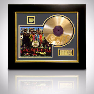 GOLD LP 'BEATLES SGT. PEPPER'S LONELY HEARTS CLUB BAND`