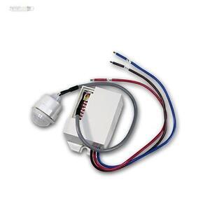 mini pir d tecteur de mouvements installation 230v ac minuteur relais infrarouge ebay. Black Bedroom Furniture Sets. Home Design Ideas