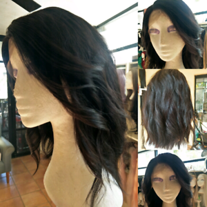 Brand new 100% Remy human Brazilian  hair lace front wigs New Farm Brisbane North East Preview
