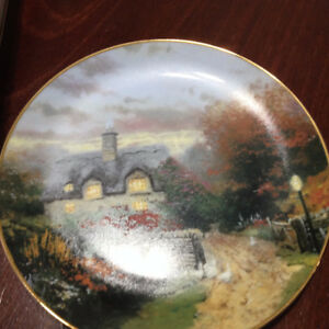 Collectors plates - certificate of authenticity - 8 inch round