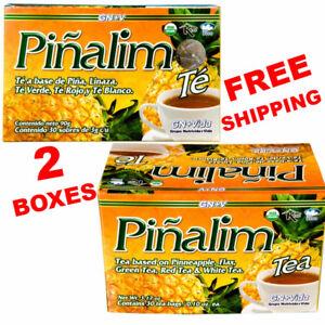 2 Te Pinalim Tea GN+Vida ENVIO GRATIS 60 days Pinalim Pineapple Diet  FREE SHIP