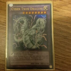 yu-gi-oh Cyber Twin Dragon SDCR-EN037