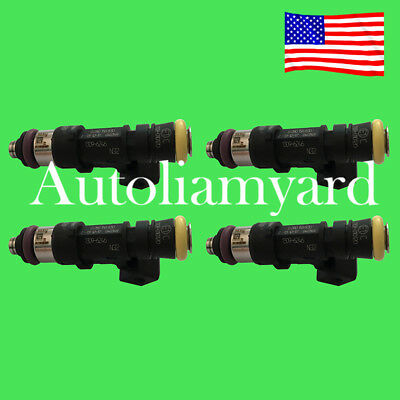 4X Fuel Injector EV1 Connector 210LB 2200cc High impedance 0280158829 0280158830 ()
