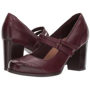 Clarks Claeson Tilly Burgundy Leather Size 6.5 (MSRP $141.21)