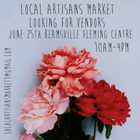 Local Artisans Market looking for vendors