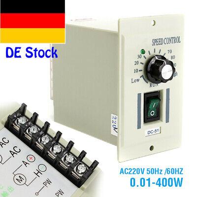 220V AC Drehzahlregler Speed Controller Für 400W Motor DC 0-220V Regler - Motor Speed Controller