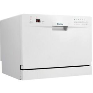 Danby Countertop Dishwasher - White - In a really good condition