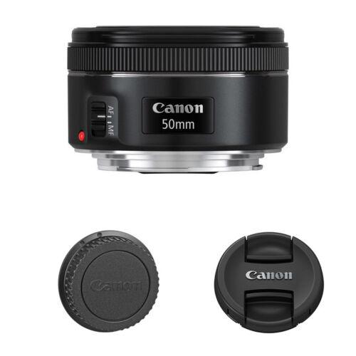 Canon EF 50mm f/1.8 STM Standard AF Lens for EOS T7 T6i T6s 7D 6D T5 DSLR Camera