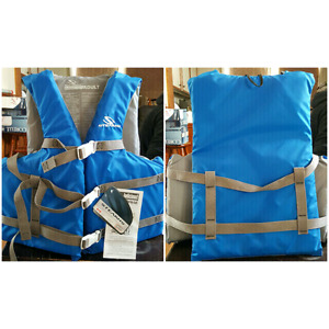 Stearns Adult Life Jacket, Nylon Boating Vest