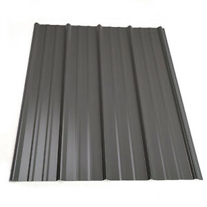 Brand New Metal roofing Charcoal 14.5x3 Campbell River Comox Valley Area image 1
