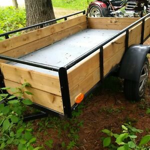 HOME MADE UTILITY TRAILERS