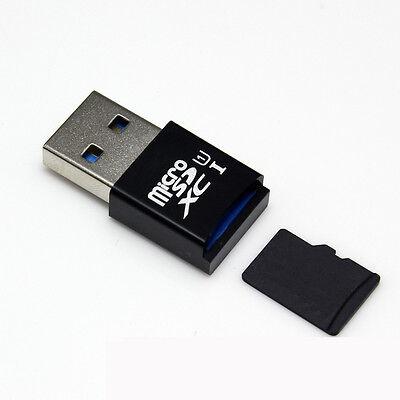 MINI 5Gbps Super Speed USB 3.0 Micro SD/SDXC TF Card Reader Adapter BK
