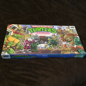 SEALED 1987 Teenage Mutant Ninja Turtles Pizza Power Boardgame
