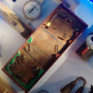 Early 1950s' Munro table hockey game