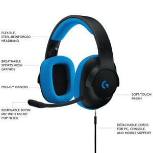 Logitech G233 Prodigy Gaming Headset with Microphone