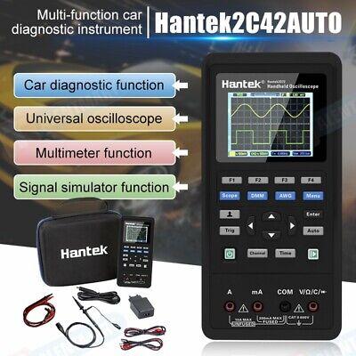 2 Channel Hantek 2in1 Handheld Oscilloscope 2c42 Dmm Multimeter Tester Us Stock