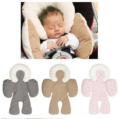 Two-sided Newborn Baby Head&Body Support Infant Pram Stroller Car Seat Cushion