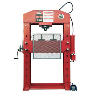 Lowest Price Guaranteed on Hydraulic Shop Press 75-ton & 100-ton