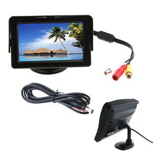 4-3-TFT-LCD-Car-Reverse-RearView-Color-Monitor-DVD-VCR